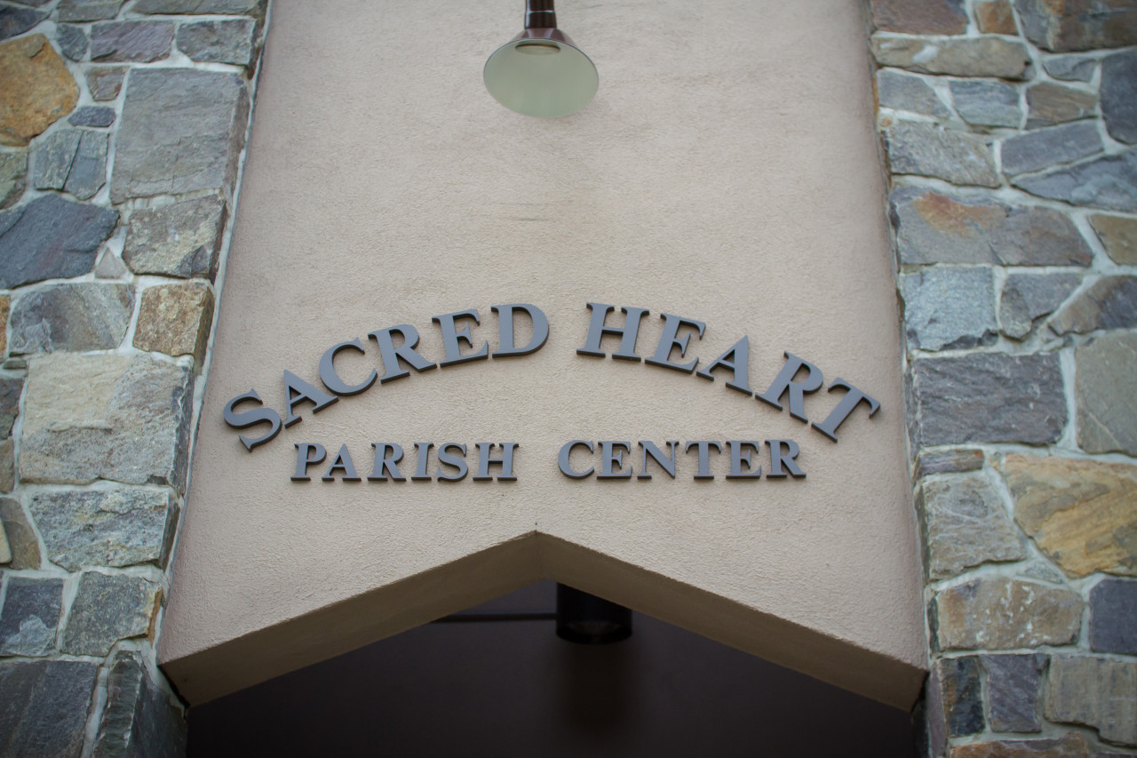 Parish Center Entrance
